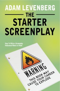 The Starter Screenplay - Front Cover